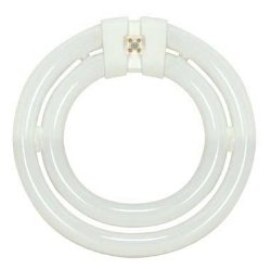 Satco S6596, FC552C/SW/TC - 55W 3000K T9, Compact Fluorescent Bulb (Circline Bulbs Satco)