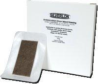 Silverlon Island Wound Dressing - Size: 6'' x 6'' - Box of 5 by Silverlon