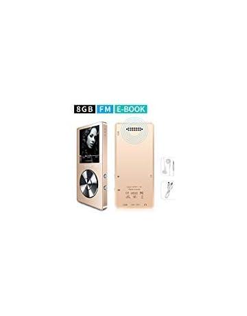 75b743801 mymahdi 8 GB Reproductor de MP3 portátil (Ampliable a 128 GB), Reproductor  de