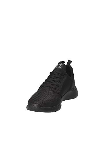 Nylon Uomo Sneaker Nero Nero Racer Ea7 0qdxwRFF