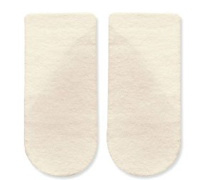 HAPAD 3/4 Length Medial/Lateral Heel Wedge, 3 inch, pair (Lateral Heel Wedges)