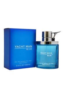 Yacht Man Blue Eau-de-toilette Spray, 3.4 Ounce