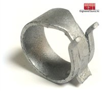 250 Pieces CTL-10.5ST Constant Tension Light Band Hose Clamp