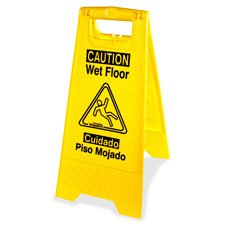 l Graphic Wet Floor Sign (English Floor)