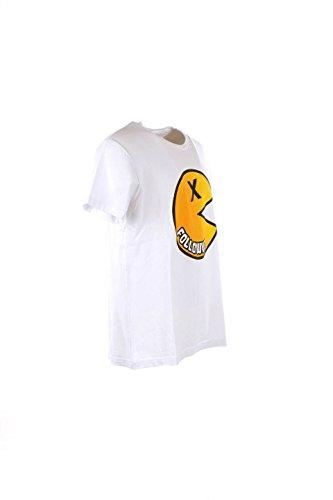 T-shirt Uomo Follow Us L Bianco Fum555 Primavera Estate 2016