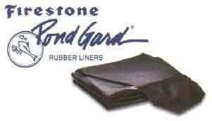 Firestone Pond Liners AFR41001 Fire Pond Boxed Liner, 10 by (10' Pondgard Pond Liner)