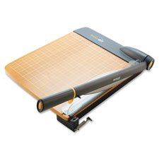(Acme United Corporation Wood Guillotine Trimmer, 18
