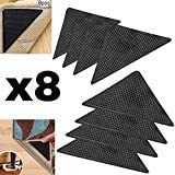 Protect Carpet Triangle Rug Gripper Tape (8 pc. Set) Corner Edging Adhesive Grip | Kitchen, Hallway, and Living Room…