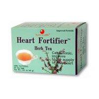 Health King Medicinal Tea Tea Heart Fortifier 20 Bag (Heart Fortifier Herb Tea)