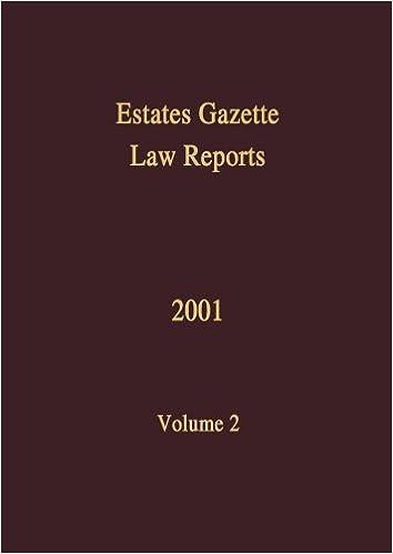 EGLR 2001 (Estates Gazette Law Reports)