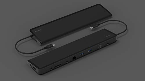 Juiced Systems ChockDOCK v2 - Universal USB-C Laptop Docking Station - 1x USB-C Power Delivery | 1x USB-C 3.1 Gen 2 Data Port | 1x USB 3.1 Gen 2 Port | 2x USB 3.0 Gen 1 | Gigabit Ethernet | SD | AUX by Juiced Systems (Image #8)