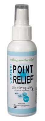FEI 11-0701-144 Point Relief Cold Spot Topical Analgesic Lotion, Spray Bottle, 4 oz. Volume (Pack of 144)