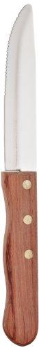 Basics P46005-6P 6 Piece Jumbo Style Steak Knife Set with Polypropylene Handle -