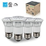 Thinklux PAR16, LED 6.5W (50W Equal), 500 lumen, 2700K (Warm White), 120 Volt, 35° Beam Angle, Dimmable, UL-listed and ENERGY STAR Qualified - (Pack of 4)