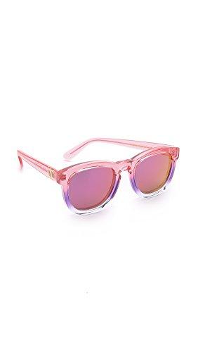Wildfox Lunettes de soleil luxe classique Fox dans la nuit tombent miroir  Purple EACCFXM000 NIG Purple 6ead5bb6ef8d