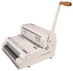 Akiles Coil Mac-ECI: Plastic Spiral Coil Paper Punch & Electric Coil Book Bind Machine by Akiles