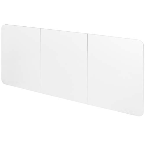 DESK-TOP2W - VIVO White Universal Dry Erase Table Top Designed for Electric and Manual Standing Desk Frames up to 58