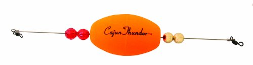 Precision Tackle 15405 Cajun Thunder Oval, 2.5-Inch, Weighted Sunglo