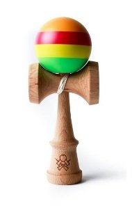 Sweets Kendamas Prime Custom V14 - Sherbet Stripe - Cushion Clear