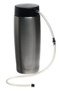 Jura 65381 Stainless-Steel 20-Ounce Milk Container with Lid by JURA - Jura Capresso Thermal Milk Container
