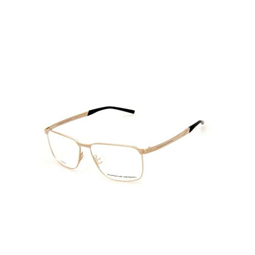 Porsche Design Titanium Eyeglasses P8332 B Gold 57-15 - Men's (Porsche Design Eyewear)