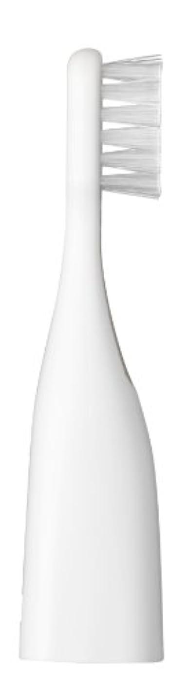 ホーン茎スローガンパナソニック ポケットドルツキッズEW-DS32用替えブラシ 2本入 白 EW0959-W