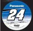 Wincraft NASCAR Jeff Gordon 02215115 Round Vinyl Decal, 3