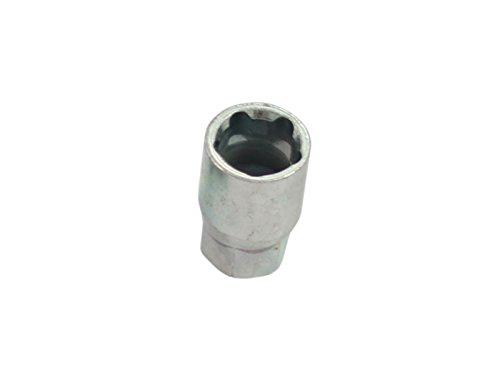 Tuner Lug Bolts - 1pc Socket Key Tool for 5 Point Spline Drive Tuner Lug Bolt