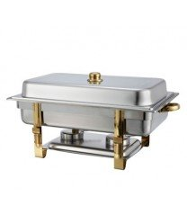 Winco 201 Malibu Chafer, 8 qt., oblong