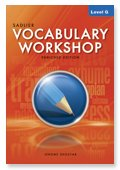 Vocabulary Workshop Enriched Edition Level G ©2012 ebook