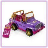 Dora the Explorer Radio Controlled Wrangler Jeep