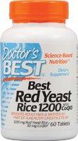 Meilleur levure de riz rouge de médecin avec CoQ10 - 1200 mg - 60 comprimés