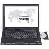 Lenovo ThinkPad T61 7659 - Core 2 Duo T7300 / 2 GHz - Centrino Duo - RAM 1 GB - HDD 80 GB - CD-RW / DVD - GMA X3100 - Gigabit Ethernet - WLAN : 802.11a/b/g, Bluetooth 2.0 EDR - TPM - fingerprint reader, SmartCard reader - Vista Business - 14.1