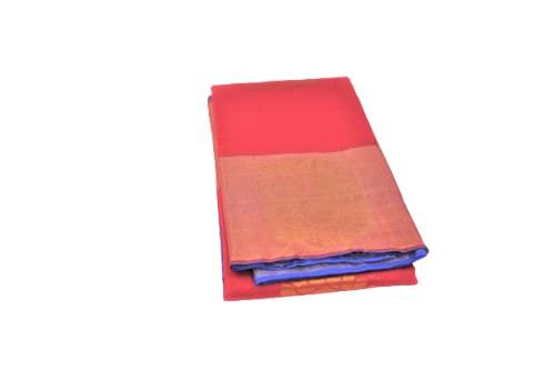 Kancheevarum silk blend cotton saree