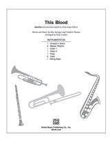 Books : This Blood - Words and music by Rita Springer and Paulette Wooten / arr. Hoyt Coulter - Instrumental Parts