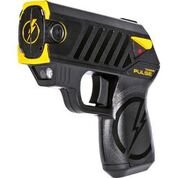 Pulse Taser with 2 Cartridges, LED Laser with/2 Cartridges, Holster and Target,Black by Taser