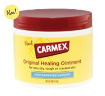 Carmex Original Healing Ointment - For Every Dry, Rough or Cracked Skin. 4 Oz