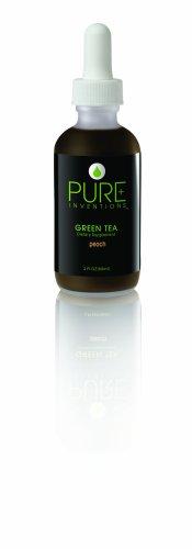 Les inventions pures Extrait de Thé Vert: Le vert Peach Peach Thé Vert Extrait, 2-Ounce Bottle