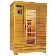 amazon com health mate 2 person infrared sauna cedar 2 person