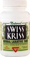 Kriss Products Laxative Modern Swiss (Swiss Kriss Herbal Laxative, Tablets 250 ea (Pack of 2))