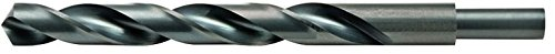 Alfa Tools RS151851 25//64 High-Speed Steel 3//8 Shank Drill with Black Oxide Finish 6 Pack