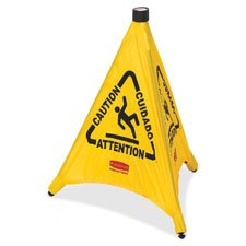 3 Sided Floor Safety Cone