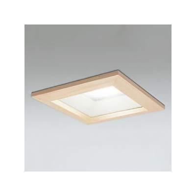 LEDダウンライト SB形 角型 埋込穴□150 白熱灯100W形 拡散配光 連続調光 本体色:木枠(白木)タイプ 5000K B07RZP7HK9
