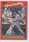 1990 Donruss Baseball Card #105 Ryne Sandberg