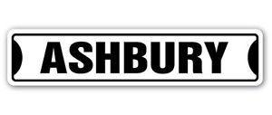 ASHBURY Street Sticker Sign san francisco Haight road SF gift bay golden gate - California Street Bay