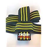 Inzer Advance Designs Gripper Knee Wraps 2.5 Meters Yellow