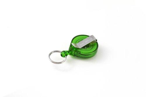 KEY-BAK Schlüsselanhänger clip, grün, KB Mini-Bak