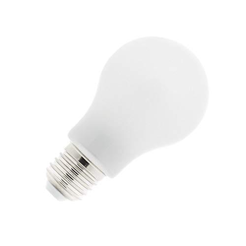 Bombilla LED E27 Glass 8W Blanco Cálido 2800K-3200K efectoLED: Amazon.es: Iluminación