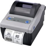 Sato WWCG18261 Series CG4 Thermal Desktop Printer, 203 dpi Resolution, 4 ips Print Speed, USB/Parallel Interface with Dispenser, TT, 4.1''