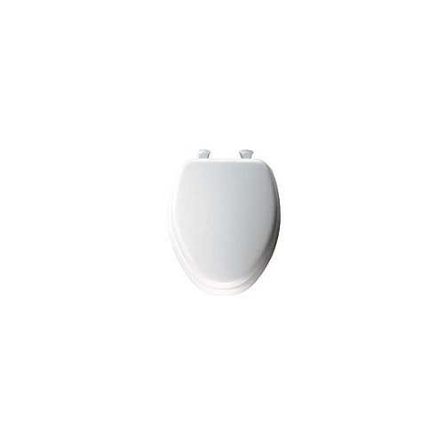 Mayfair 113EC000 White Elongated Deluxe Soft Toilet Seat